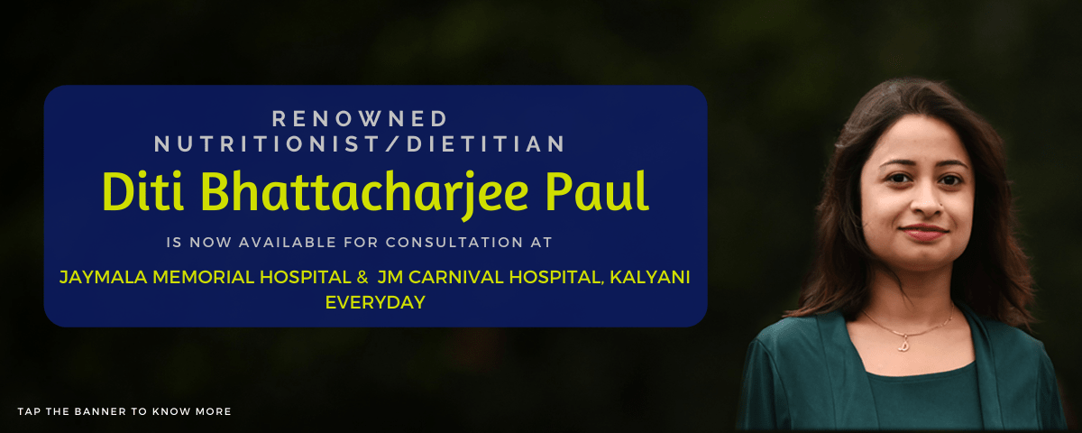Dietitian Diti Bhattacharjee Paul