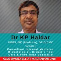 Dr. K P HALDAR
